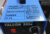 Mesin Las Listrik Lakoni Lakoni Falcon 205e