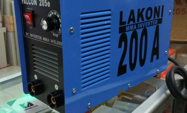 Mesin Las Listrik Lakoni Falcon 200a Lakoni Falcon 205e