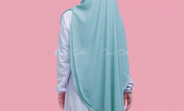 Sku0000030 Khimar Swarovski Clarissa Hijab Syari Jilbab Syari Kerudung Instan Pic4