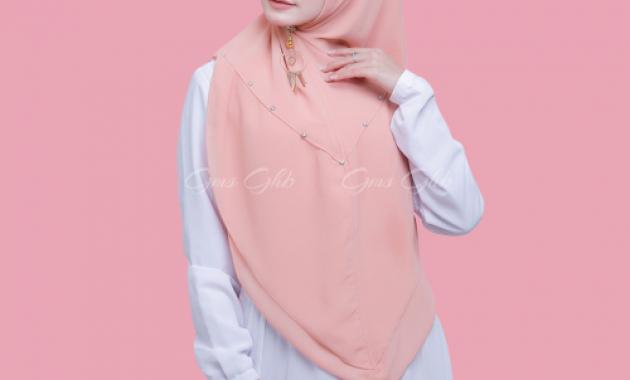 Sku0000030 Khimar Swarovski Clarissa Hijab Syari Jilbab Syari Kerudung Instan Pic6