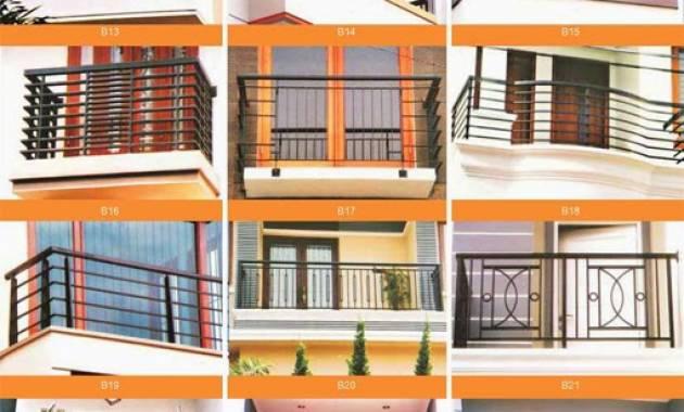 Contoh Pagar Balkon Rumah Minimalis