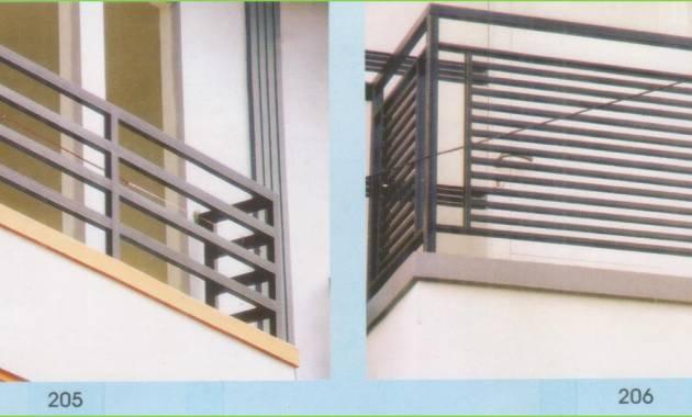 Top 2018 Pagar Balkon Rumah Minimalis Denah