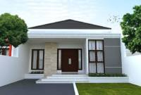 Cat Rumah Minimalis Tampak Depan 2020