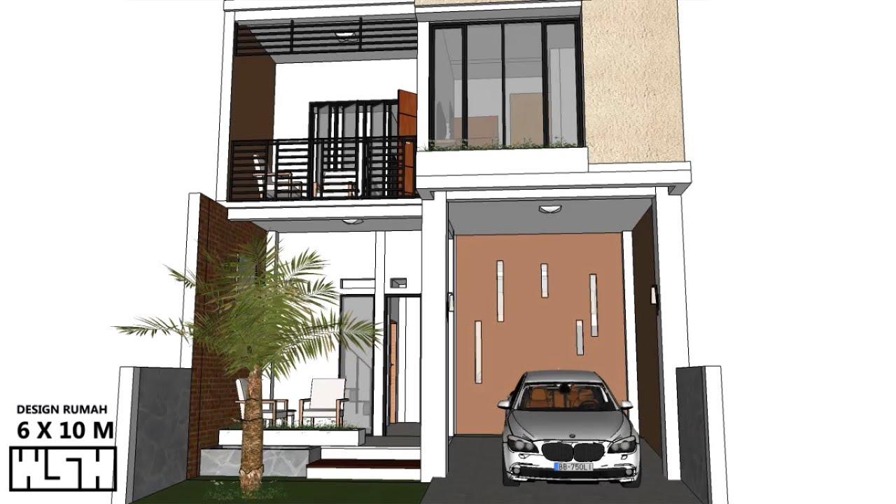 Desain Rumah Minimalis 2 Lantai Luas Tanah 60 Meter Content
