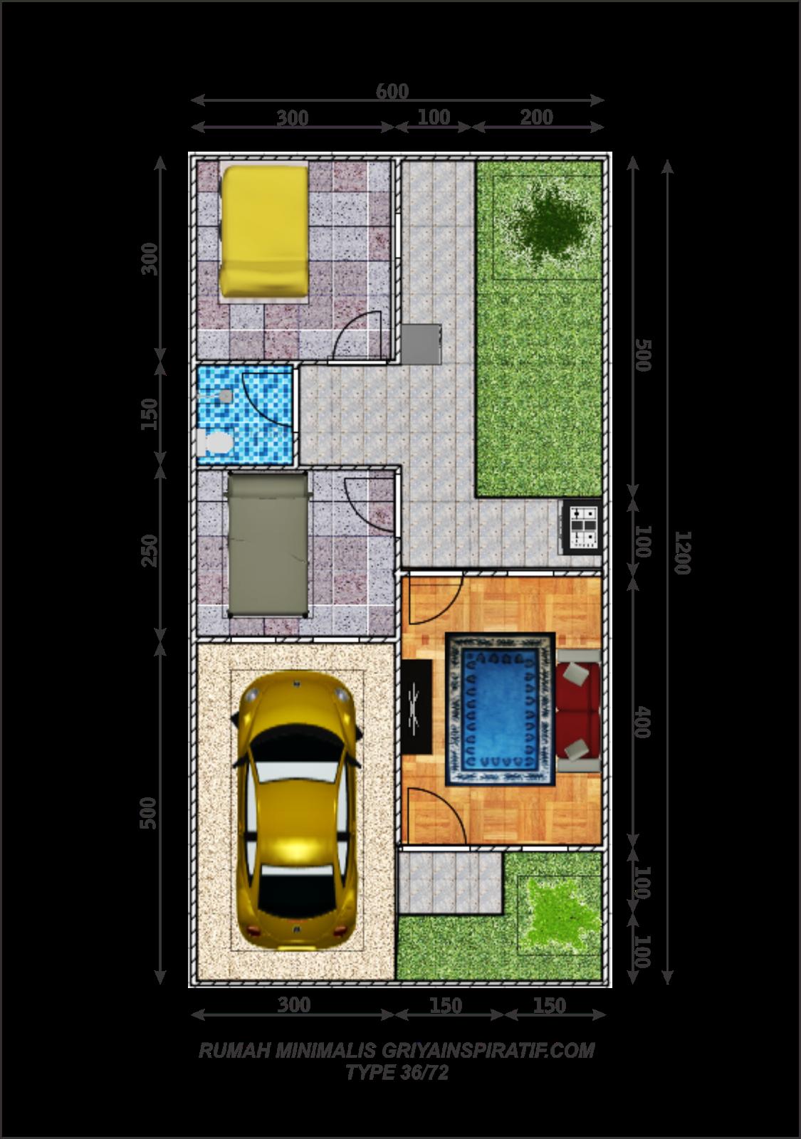 Desain Rumah Minimalis Type 36 72 - Content