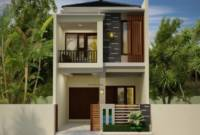 Gambar Contoh Rumah Minimalis 2 Lantai