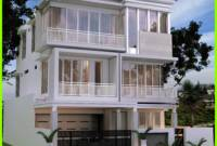 Lantai Tampak Depan Desain Rumah Minimalis 2 Lantai 2020