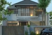 Minimalis Mewah Desain Rumah 2 Lantai Minimalis Modern Elegan