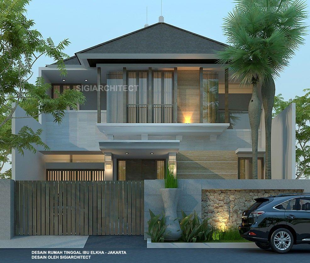 Minimalis Mewah Desain Rumah 2 Lantai Minimalis Modern Elegan Content
