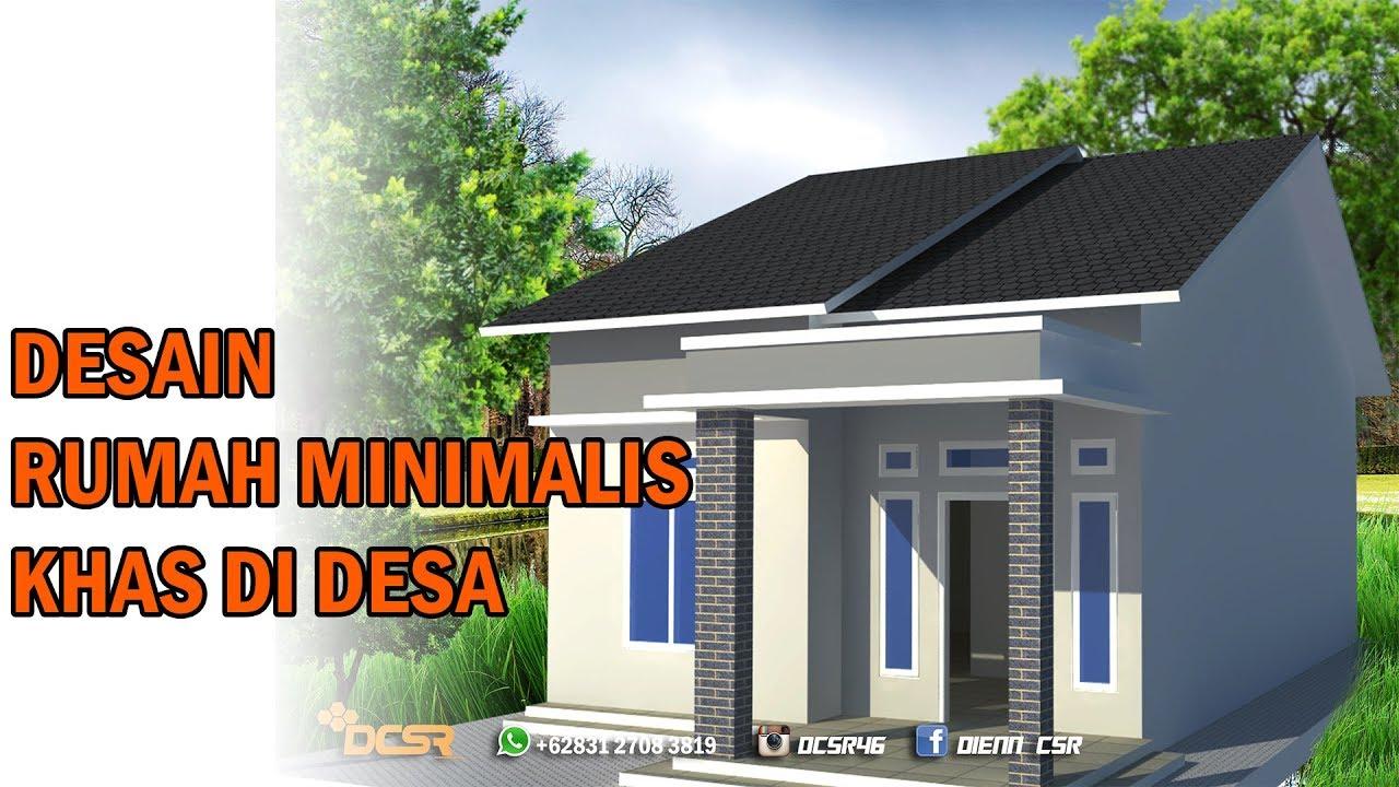 Pedesaan Model Rumah Minimalis 2018 Sederhana Di Kampung Content