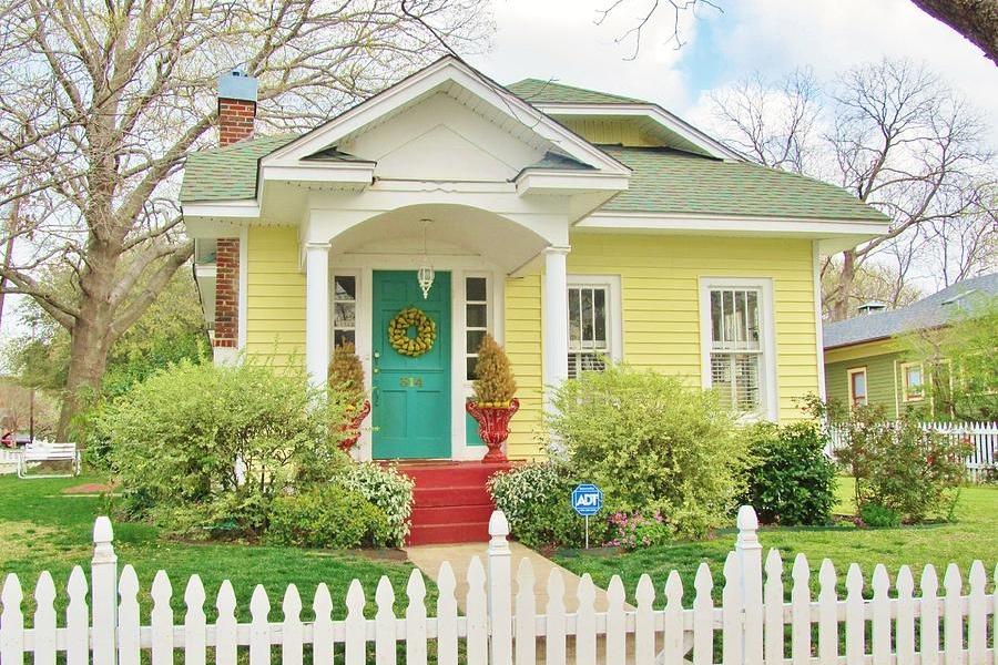 Batu Warna Cat Dinding Luar Rumah Yang Cerah - Content