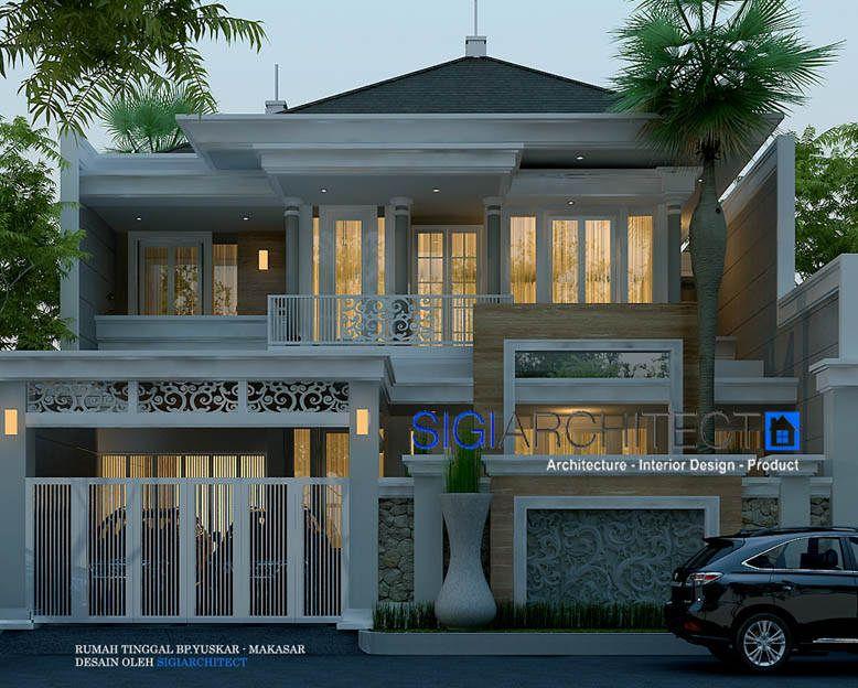 Denah Rumah Klasik Modern 2 Lantai Content