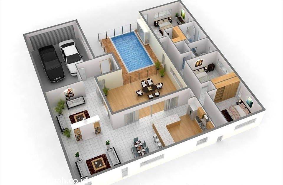 95 Desain Rumah Minimalis Dengan Kolam Renang Terbaik