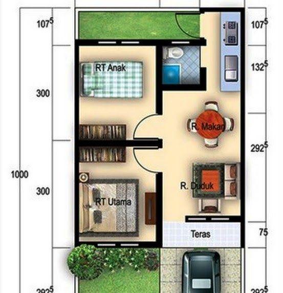 Denah Rumah Minimalis Type 36 70 - Content