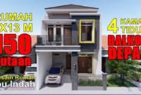 Desain Rumah Minimalis 2 Lantai Type 36 60