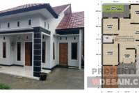 Desain Rumah Minimalis 3 Kamar Tidur Dan Garasi