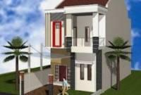 Desain Rumah Minimalis Modern 2 Lantai Type 36