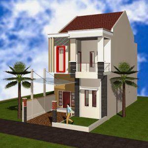 desain rumah minimalis modern 2 lantai ukuran 9x6 - content