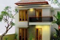 Desain Tampak Depan Rumah Minimalis 2 Lantai Type 36
