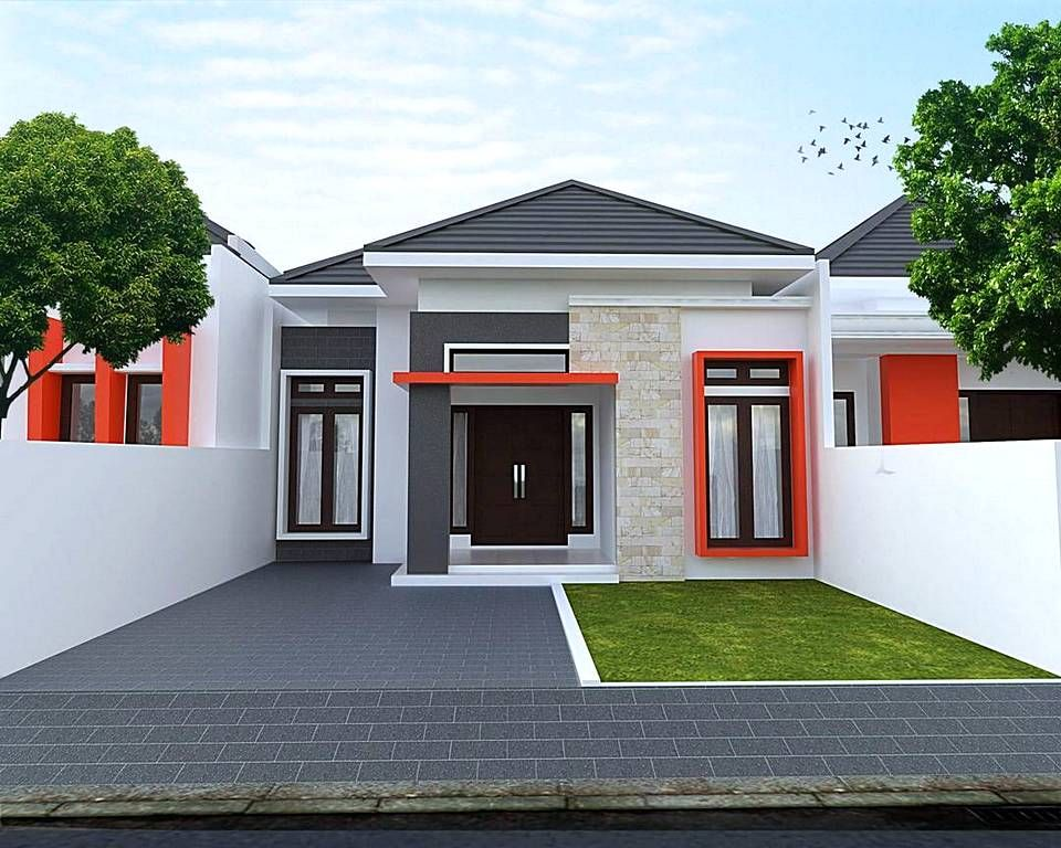 Desain Teras Rumah Minimalis Type 36 Tampak Depan - Content