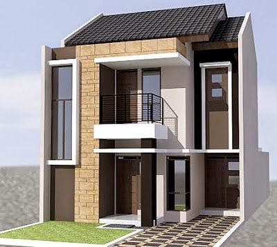 gambar rumah minimalis 2 lantai type 45 - content