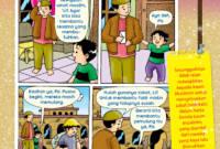 Komik Hak Dan Kewajiban Anak Di Rumah