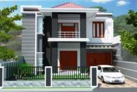 Minimalis Modern Model Rumah Sederhana Tapi Kelihatan Mewah 2 Lantai