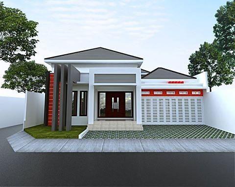 Minimalis Modern Tampak Model Depan Rumah Minimalis Sederhana Content