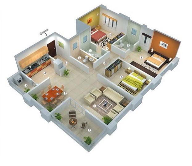 Model Denah Rumah Sederhana Tapi Mewah Content