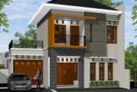 Model Rumah Minimalis 2 Lantai Tampak Depan Terbaru 2018
