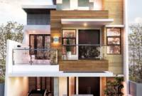 Rumah Minimalis 2 Lantai Modern Terbaru