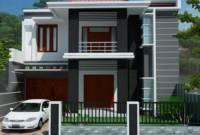 Teras Model Rumah Minimalis 2 Lantai Tampak Depan Terbaru