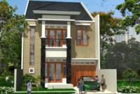 Teras Tampak Depan Rumah Minimalis 2 Lantai Type 36