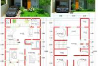 Ukuran Desain Rumah 2 Lantai Minimalis Modern
