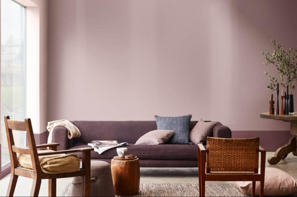 Warna Cat Rumah Bagian Dalam Ruang Tamu - Content