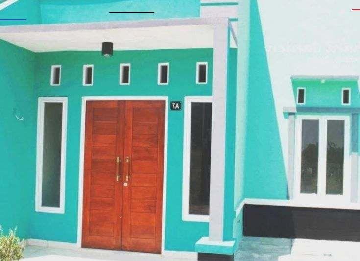 Cat Rumah Warna Hijau Tosca Dan Pink - Content