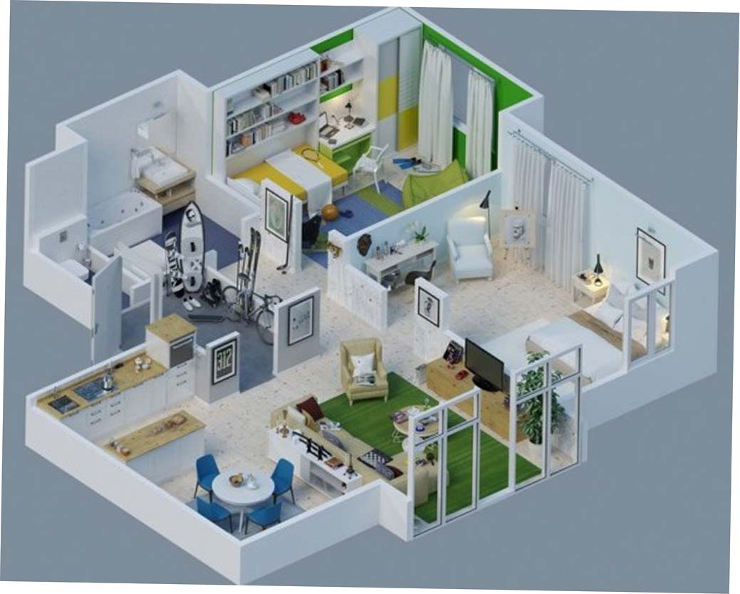 Desain Rumah Sederhana 2 Lantai 4 Kamar Tidur Content