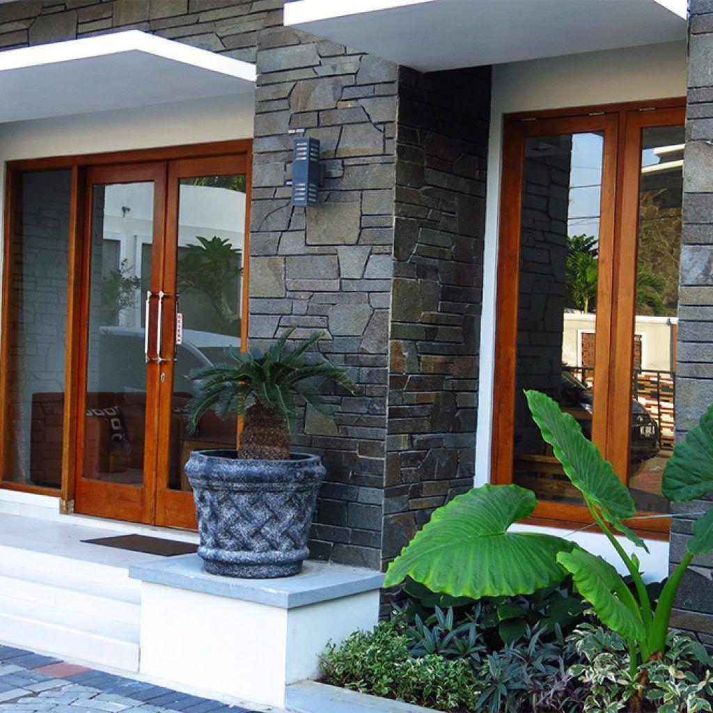 Desain Teras Rumah Minimalis Batu Alam Content