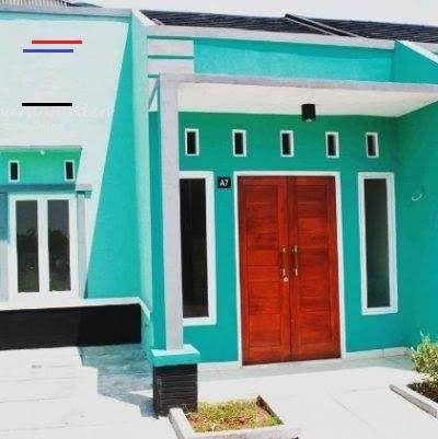 Kombinasi Warna Hijau Tosca Cat Rumah Warna Biru Tosca Dan ...