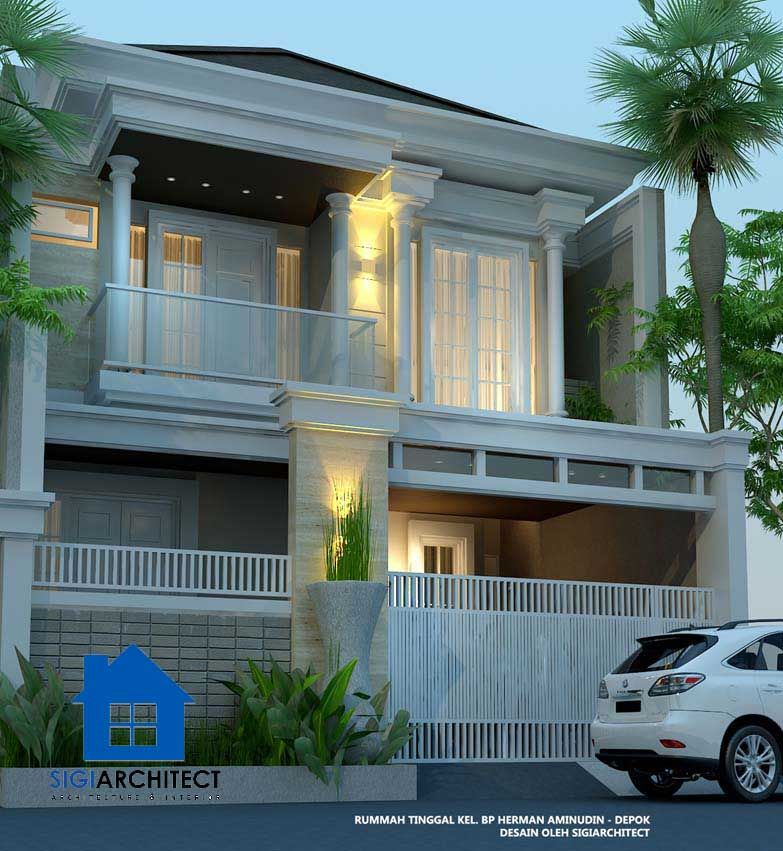 Minimalis Modern Rumah Mewah 2 Lantai Klasik Content