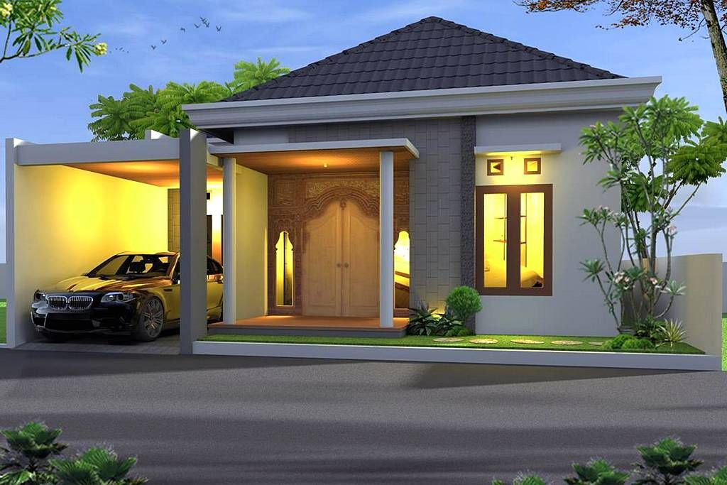 Model Rumah Minimalis 2019 Tampak Depan 1 Lantai Content