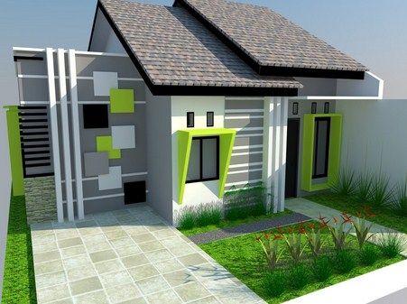 model warna cat rumah minimalis tampak depan - content