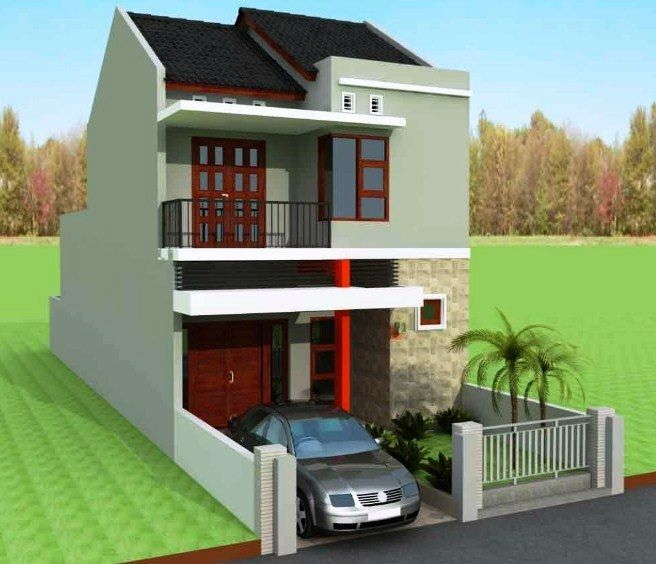 Rumah Minimalis 2 Lantai Type 36 Sederhana - Content
