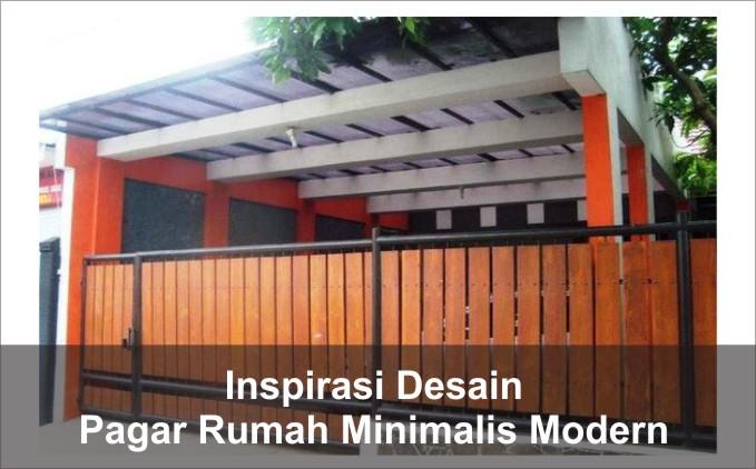 5 Inspirasi Desain Pagar Rumah Minimalis Modern Arsimedia
