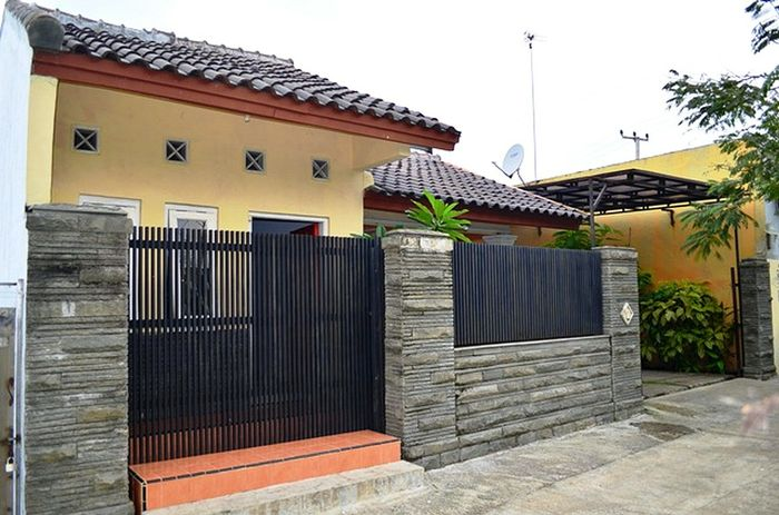 Pagar Tembok Rumah Minimalis Ayo Desain Rumahmu