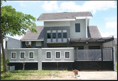Contoh Desain Pagar Tembok Depan Rumah Terbaru Rumah Minimalis Rumah Minimalis