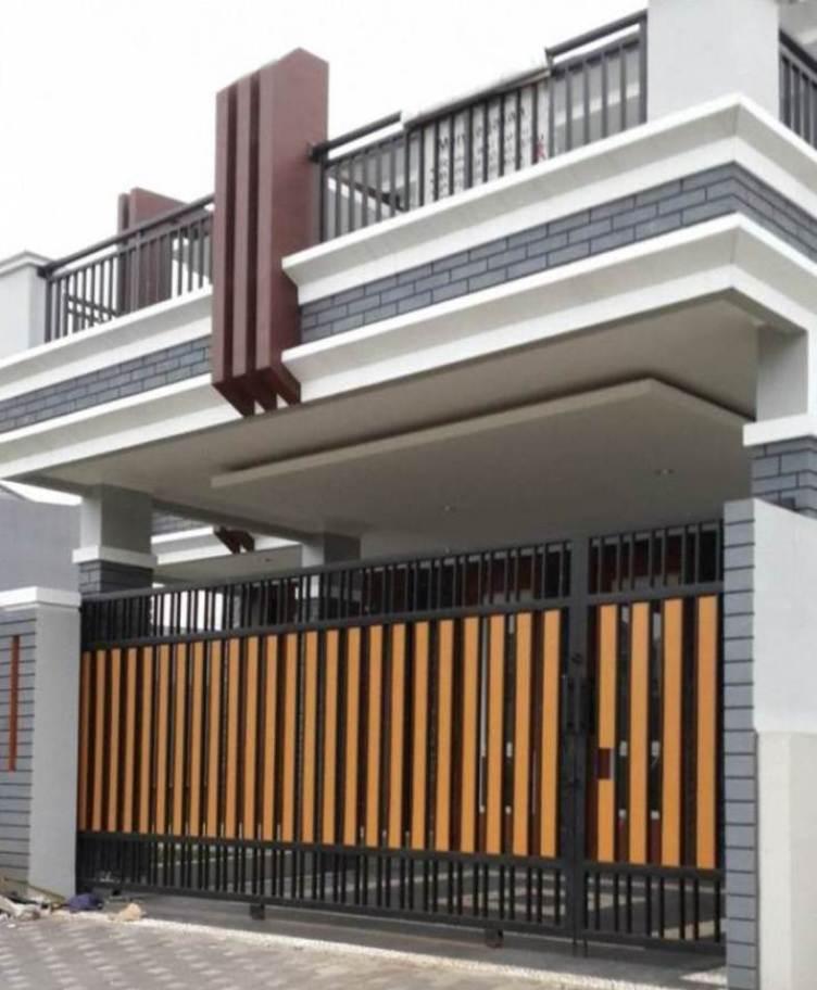 Contoh Desain Model Pagar Rumah Minimalis 2015