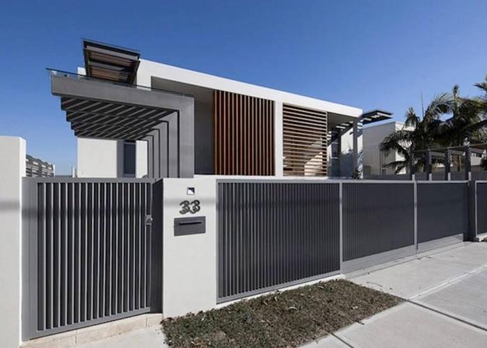 Contoh Pagar Besi Rumah Minimalis Terbaru Rumahminimalisan Info