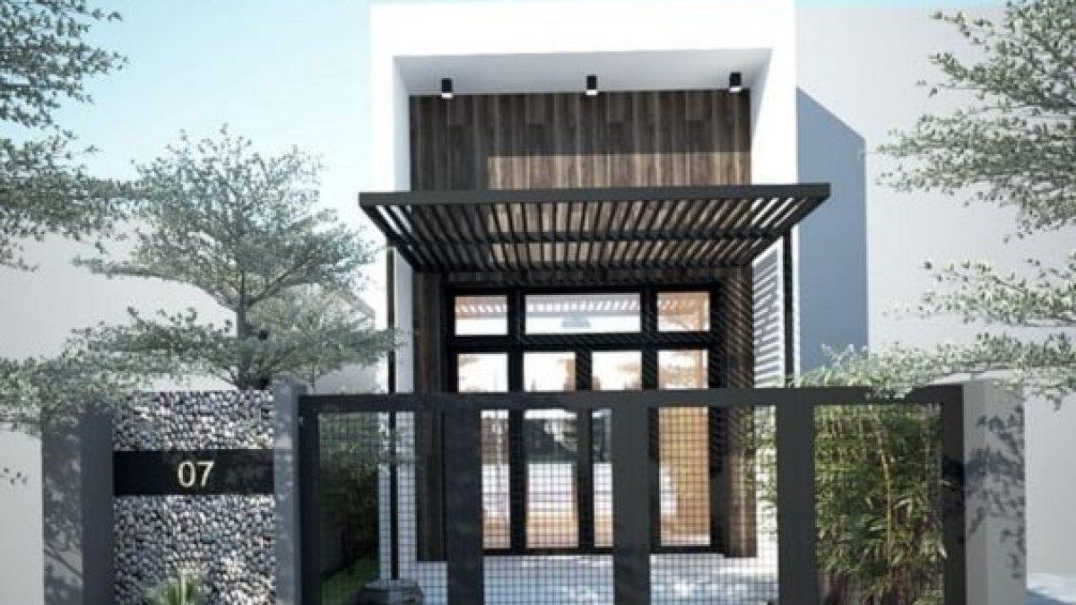 50 Contoh Pagar Rumah Minimalis Modern Model Dan Gambar Desain