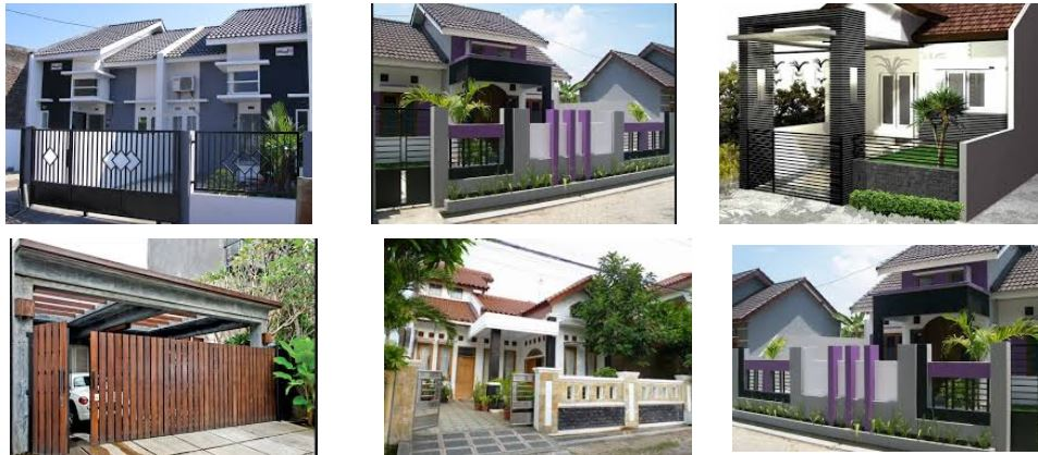 30 Kumpulan Pagar Rumah Minimalis Dengan Desain Terbaru Ndik Home